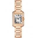 カルティエ腕時計コピー タンクアングレーズ 超安SM WT100002