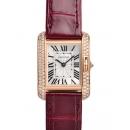 カルティエ腕時計コピー タンクアングレーズ価格SM WT100013