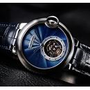 新作 カルティエバロン ブルー ドゥ 時計 カルティエ W6920105フライング トゥールビヨン エナメル ウォッチ