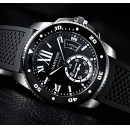 新作 カルティエ カリブル ドゥ時計 カルティエ ダイバー ウォッチ W7100056