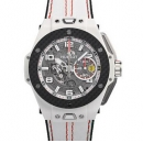 ウブロ カーボンホワイトセラミック ウブロビッグバン フェラーリスーパーコピー時計 401.HQ.0121.VR