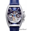 フランクミュラー時計コピートノー カーベックス クロノグラフ ビッグデイト8083CCGDFOAC BLUE