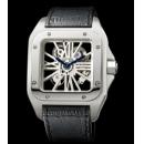 カルティエスーパーコピー 時計サントス-デュモン スケルトン ウォッチW2020018