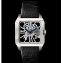 2015カルティエスーパーコピー 時計サントス-デュモン スケルトン ウォッチw2020033