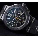 スーパーコピーブルガリ時計新作 ディアゴノ・ウルトラネロ クロノグラフDG42BBSCVDCH