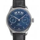 ブルー IWC ポルトギーゼIW503502 アニュアルカレンダー 新作