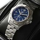 ブライトリングスーパーコピー 時計 オーシャン 青 A17360