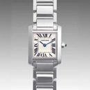 人気 カルティエ ブランド時計コピー レディース時計 タンクフランセーズ SM W50012S3