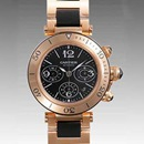 カルティエ時計ブランド通販コピー パシャ シータイマークロノ W301980M