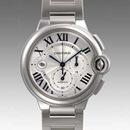 人気 カルティエ ブランド時計コピー 激安 バロンブルークロノ W6920031