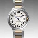 人気 カルティエ ブランド時計コピー 激安 バロンブルー MM W6920047