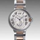 人気 カルティエ ブランド時計コピー 激安 バロンブルー 2タイムゾーン W6920027