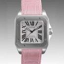 ブランド CARTIERカルティエ 時計コピー サントス100 W20126X8