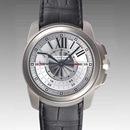 カルティエ時計ブランド 店舗 激安 カリブル ドゥ セントラルクロノグラフ W7100005