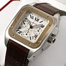 ブランド CARTIERカルティエ 時計コピー サントス100クロノ W20091X7