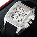 ブランド CARTIERカルティエ 時計コピー サントス100クロノ W20090X8