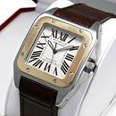 ブランド CARTIERカルティエ 時計コピー サントス100 コンビ W20072X7