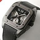 ブランド CARTIERカルティエ 時計コピー サントス100 カーボン クロノグラフ W2020005