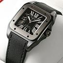 ブランド CARTIERカルティエ 時計コピー サントス100 カーボン W2020008