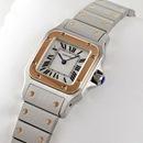 ブランド CARTIERカルティエ 時計コピー サントス ガルベ 18Kピンクゴールド/ステンレスコンビW20103C4