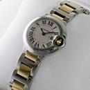 ブランド CARTIERカルティエ 時計コピー バロン ブルー ドゥ レディース コンビ W69007Z3
