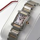 ブランド CARTIERカルティエ 時計コピー タンクフランセーズ ピンクゴールド コンビ W51027Q4