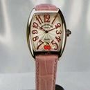 腕時計 コピー FRANCK MULLER フランクミュラー 激安 トノウカーベックス レディース サクラ 7502QZSAKURA