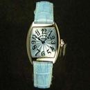 腕時計 コピー FRANCK MULLER フランクミュラー トノウカーベックス インターミディエ パステルブルー 2251QZ