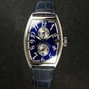 腕時計 コピー FRANCK MULLER フランクミュラー マスターバンカー ブルーダイヤル 5850MB
