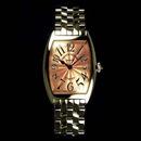 腕時計 コピー FRANCK MULLER フランクミュラー トノウカーベックス レディース 1752QZ
