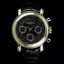 FRANCK MULLER フランクミュラー 偽物時計 ラウンド ダブルフェイスクロノグラフ 7000DF