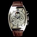 フランク・ミュラー コピー 時計 レトログラード パーペチュアルカレンダー クロノグラフ6850QPE OG White