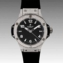 (HUBLOT)ウブロ ブランドコピー ビッグバン38 スティールパヴェ 361.SX.1270. RX.1704 レディース 腕時計