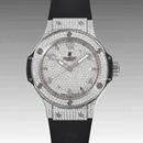 (HUBLOT)ウブロ スーパーコピー ビッグバン38 スティール 361.SX.9010.RX.1704 レディース 腕時計