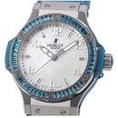 (HUBLOT)ウブロ スーパーコピー ビッグバン トゥッティフルッティ ブルー 361.SL.6010.LR.1907 女性 時計 ブランド