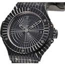 (HUBLOT)ウブロ 時計 コピー ビッグバン ブラックキャビア ブラックセラミック 346.CX.1800.RX