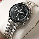 ブランド オメガ 腕時計コピー通販 スピードマスター オートマティック リデュースド ブラックダイアル 3570-50
