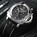 PANERAIパネライ ルミノールスーパー時計コピー1950エイトデイズ クロノモノプルサンテGMT PAM00275