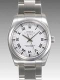 ロレックス(ROLEX) 時計 エアキング 114200 ホワイト