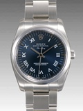 ロレックス(ROLEX) 時計 エアキング 114200 ブルー 機械