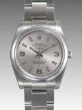 ロレックス(ROLEX) 時計 エアキング 114200 自動巻 シルバー