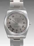ロレックス(ROLEX) 時計 エアキング 114200 自動巻きグレー