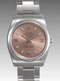 ロレックス(ROLEX) 時計 エアキング 114200 ピンク