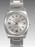 ロレックス(ROLEX) 時計 エアキング 114200 シルバー