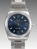ロレックス(ROLEX) 時計 エアキング 114200 ブルー