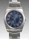 ロレックス(ROLEX) 時計 エアキング 114200 ブルー 自動巻き