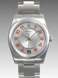 ロレックス(ROLEX) 時計 エアキング 114200 シルバー 34mm