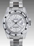 ロレックス(ROLEX) 時計 GMTマスターII 116759SANR 機械 宝石