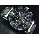 ルイヴィトン LOUIS VUITTON時計コピー時計 タンブール・クロノ・クォーツ・タイプB・B LVTC0202