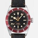 チュードル Tudor腕時計コピー ヘリテージ ブラックベイブラック革 ブラック 79220R